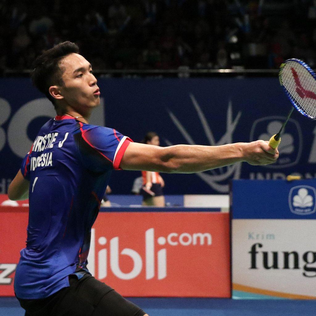 Semifinal Bulutangkis: Jonatan Jumpa Anthony, Ihsan vs Wisnu Yuli