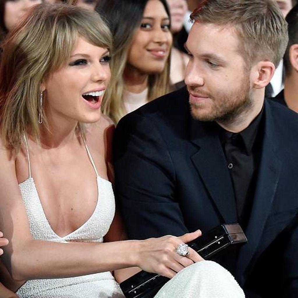 Buka Identitas, Taylor Swift Kini Jadi Penulis Lagu Calvin Harris
