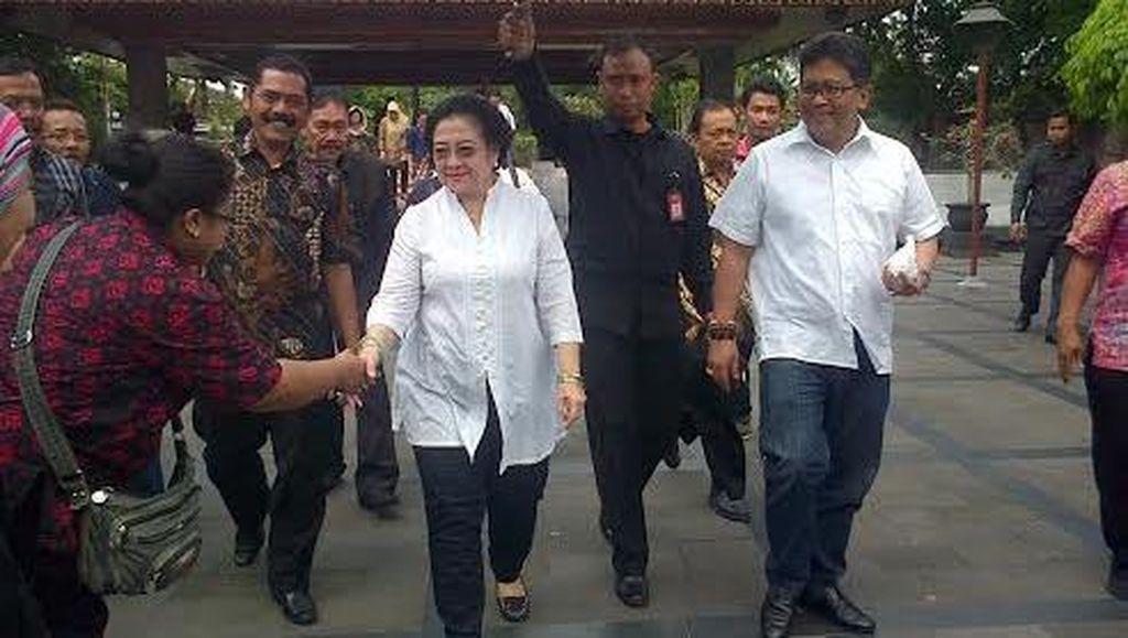 Nyekar ke Makam Bung Karno, Megawati Rapat Internal dengan Kader PDIP