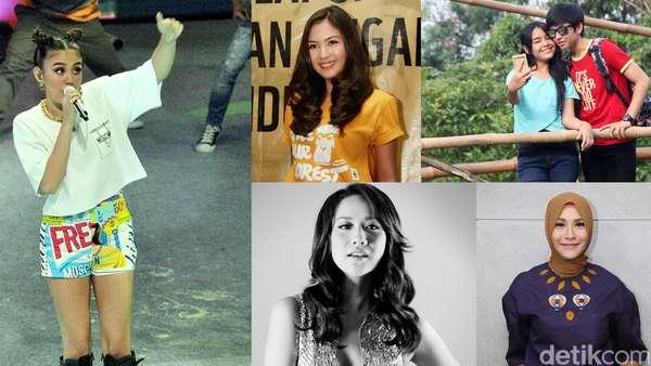 Hot Photo Highlight: Gaya Agnez MO hingga Zaskia Mecca yang Stylish