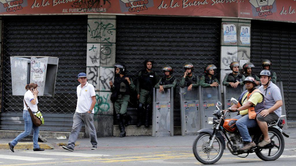 Aksi Penjarahan Makin Marak di Venezuela, 400 Orang Ditangkap