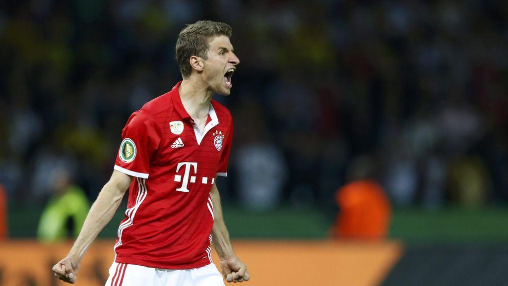 Mueller: Mengalahkan Dortmund Akan Lebih Menyenangkan di Musim Ini