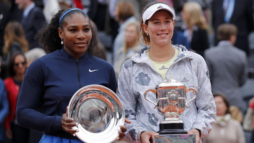Muguruza Raih Gelar Grand Slam Perdana, Serena Kembali Gagal Samai Graf
