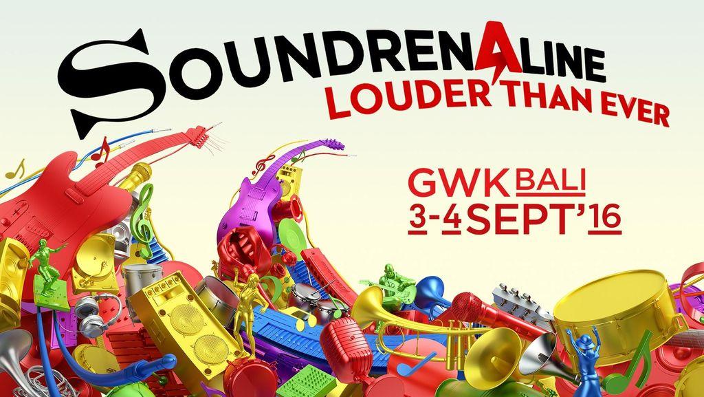 Louder Than Ever! Soundrenaline Kembali ke Bali 3 dan 4 September
