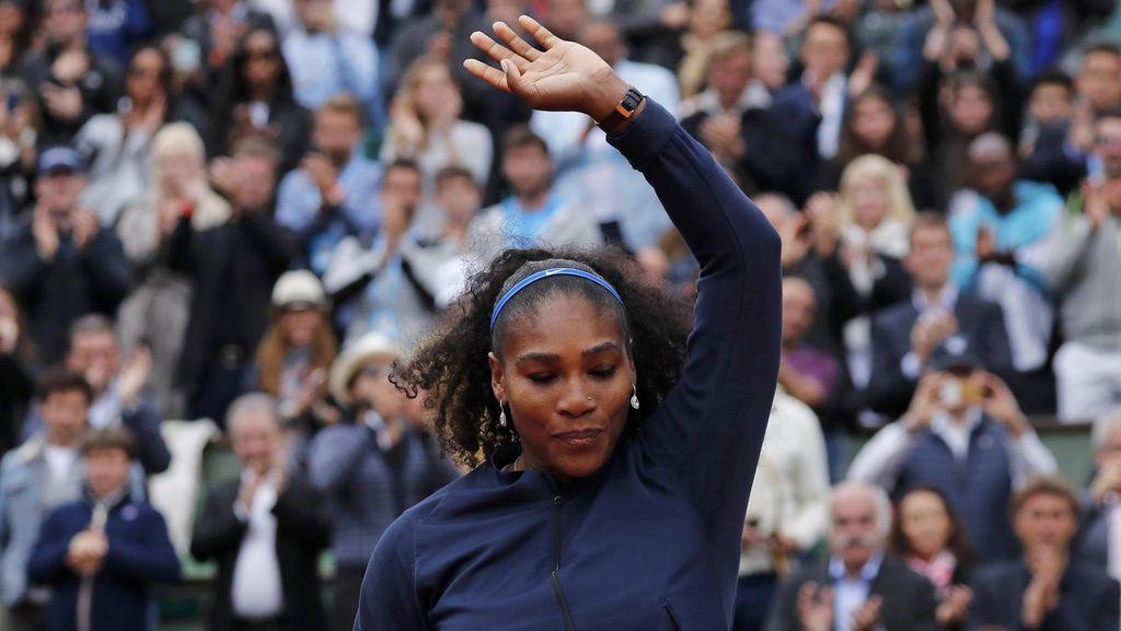 Kalah di Final, Serena Tak Mau Cari Alasan