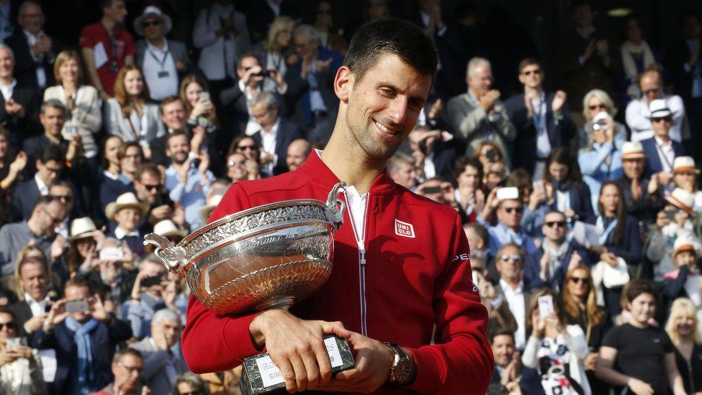 Kemenangan yang Belum Pernah Dirasakan Djokovic di Roland Garros