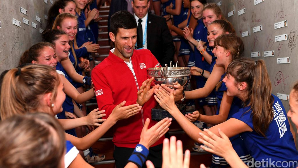 Titel Grand Slam Federer Lebih Banyak, tapi Kini Djokovic yang Terhebat