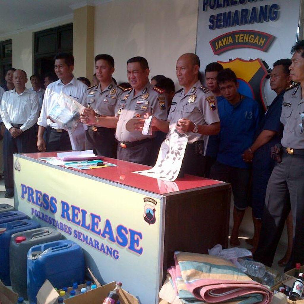 Polisi Semarang Amankan 71 Preman dan 28 Pasangan Mesum selama Sepekan