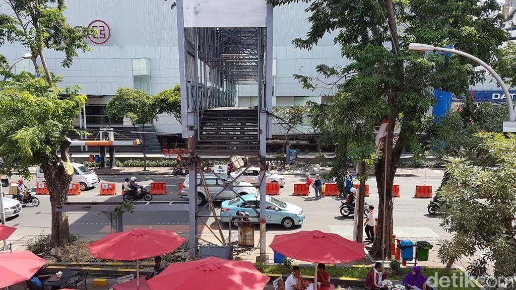 Keren, Jembatan Penyeberangan di Kota Surabaya akan Dilengkapi Lift