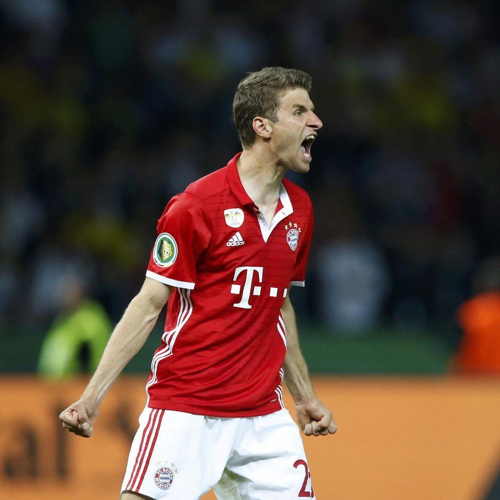 Mueller Percaya Sukses di Liga Champions Juga Soal Keberuntungan