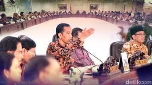 Jokowi Kembali Rombak Kabinet