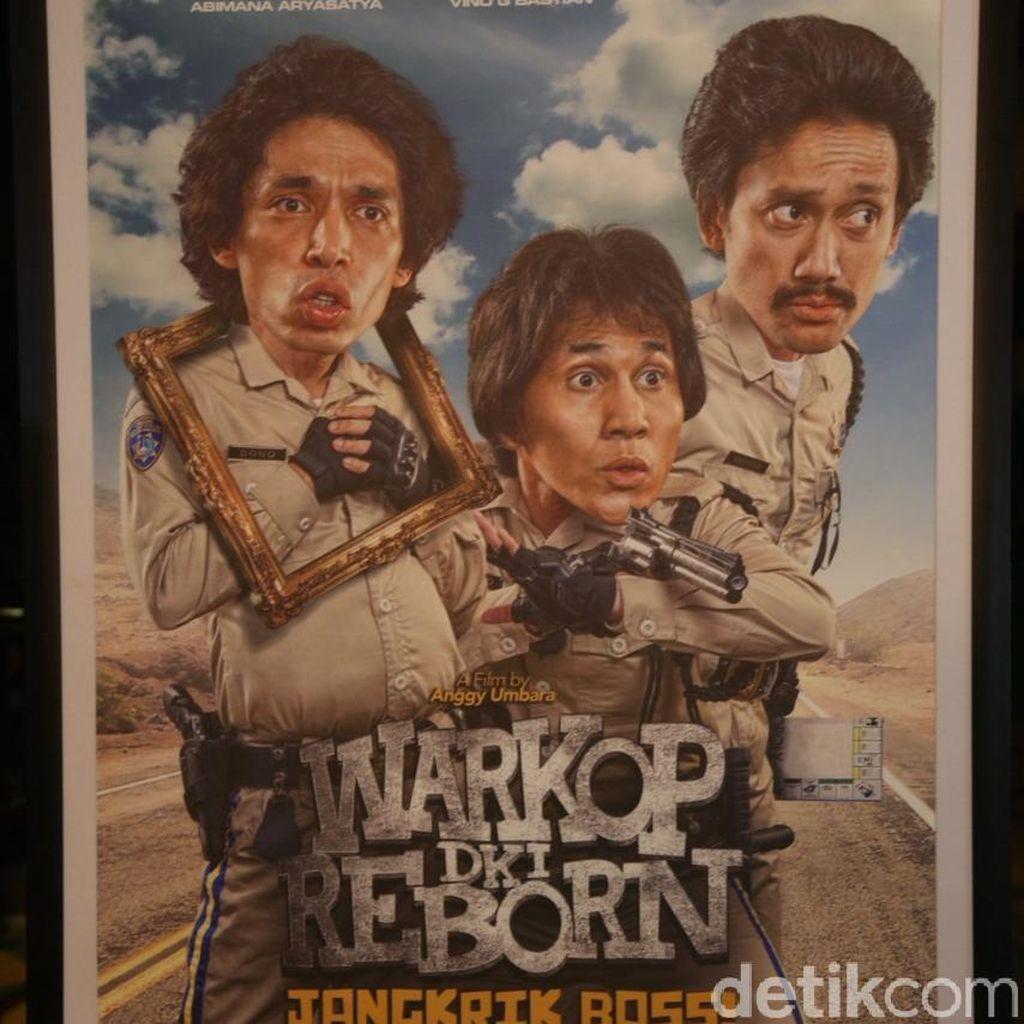 Indro Kaget Trailer Warkop DKI Reborn: Jangkrik Boss Part 1 Ditonton 4,6 Juta Kali