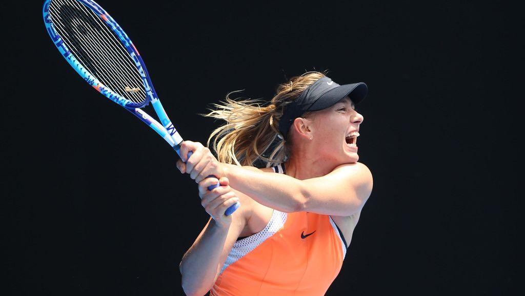 Sharapova Diskors Dua Tahun, Nike Tetap Setia Jadi Sponsor