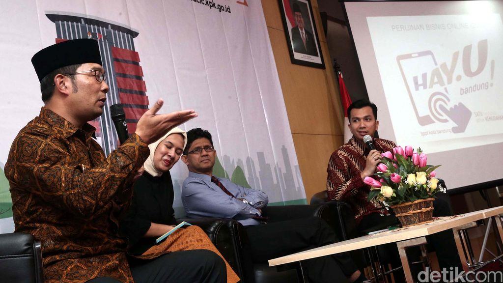 Ridwan Kamil: Lawan Korupsi Bisa Lewat Sanksi Sosial
