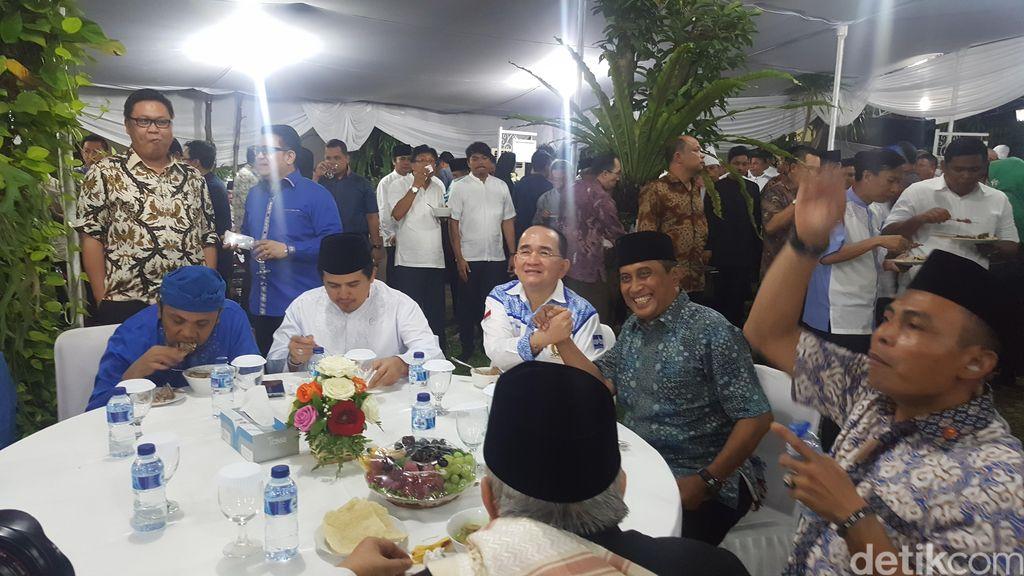 DPP PD Gelar Buka Puasa di Rumah SBY di Cikeas