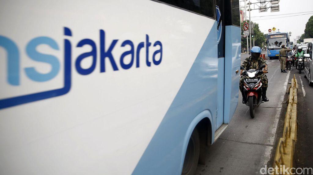 17 Agustus, Harga Tiket Transjakarta Rp 1.708