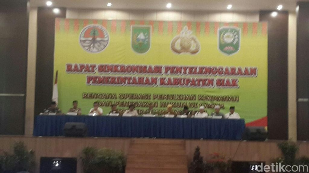 Perambah Kawasan Hutan Cagar Biosfer di Riau Akan Dipulangkan