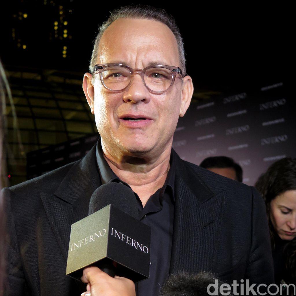 Eksklusif Bersama Tom Hanks Bicara Soal Inferno
