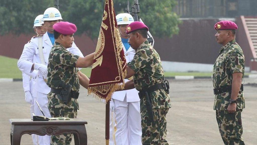 Brigjen RM Trusono Dilantik Jadi Komandan Korps Marinir