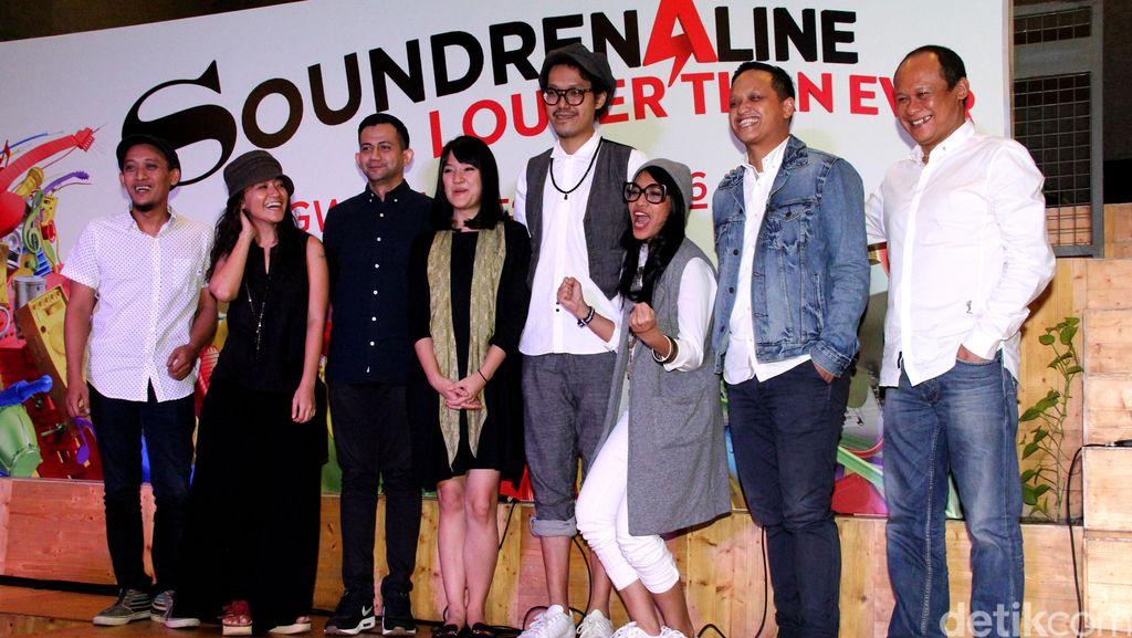 Kolaborasi Musik dan Seni Kreatif di Soundrenaline 2016