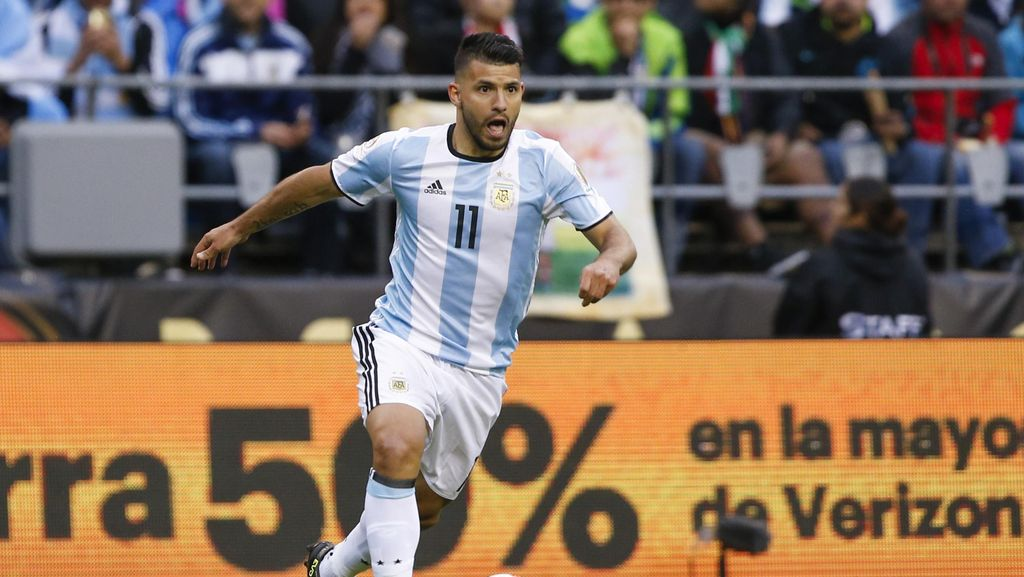 Argentina Tanpa Aguero Saat Hadapi Uruguay dan Venezuela