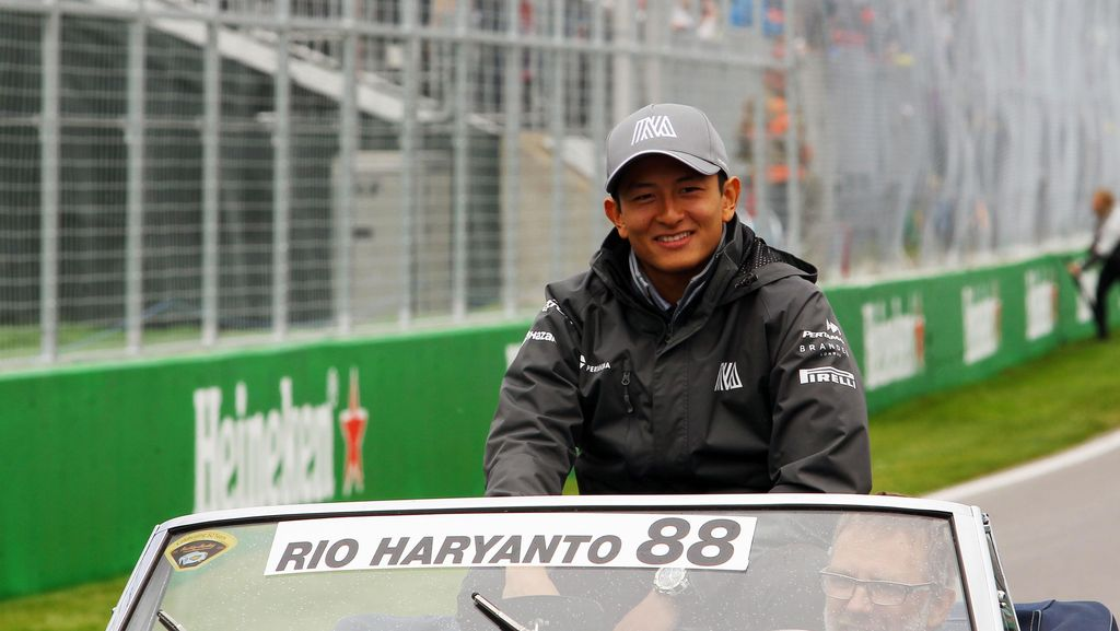 Rio Haryanto di F1: 12 Balapan, 3 Kali Gagal Finis, dan 0 Poin