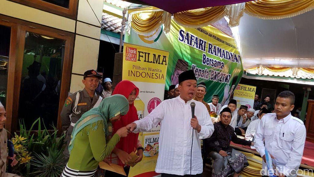 BNP2TKI Gelar Pasar Murah dan Safari Ramadan ke Keluarga TKI