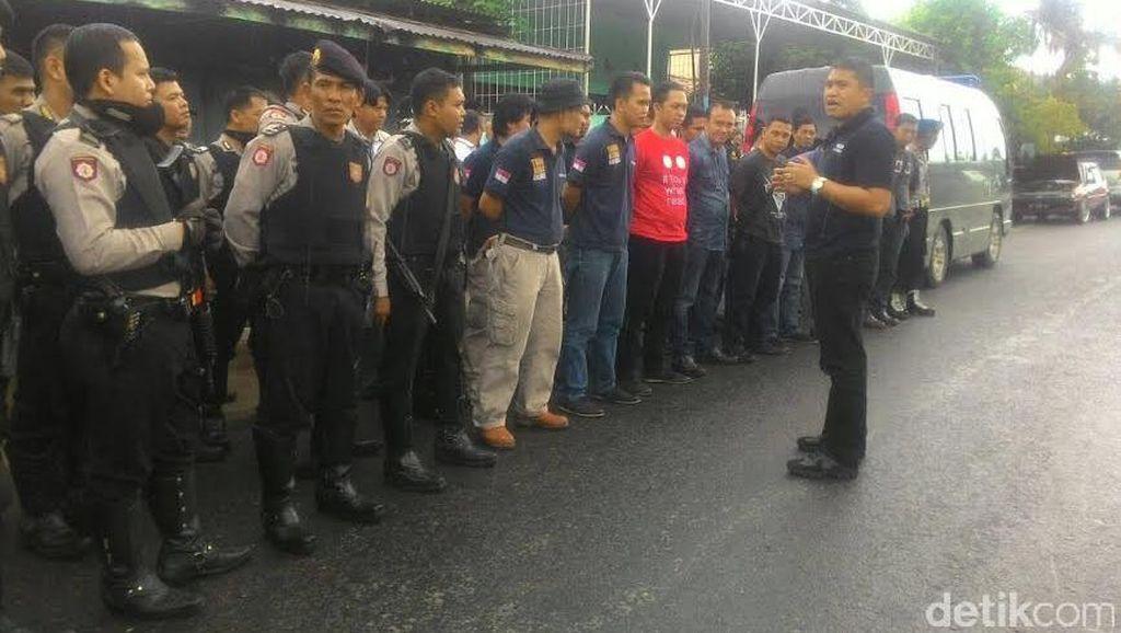 Polisi Gelar Pra Rekonstruksi Perkelahian Antar Kampung di Palembang dengan Senpi
