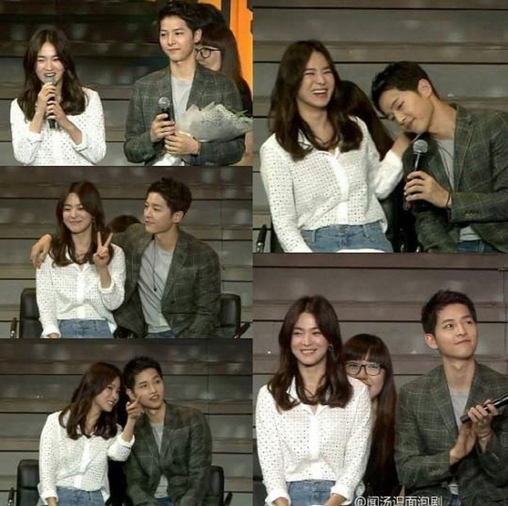 Surprise! Song Hye Kyo Hadiri Jumpa Fans Song Joong Ki di Tiongkok