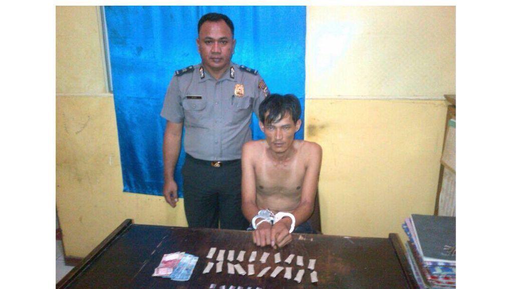 Polisi Tangkap Bandar Narkoba di Rokan Hilir