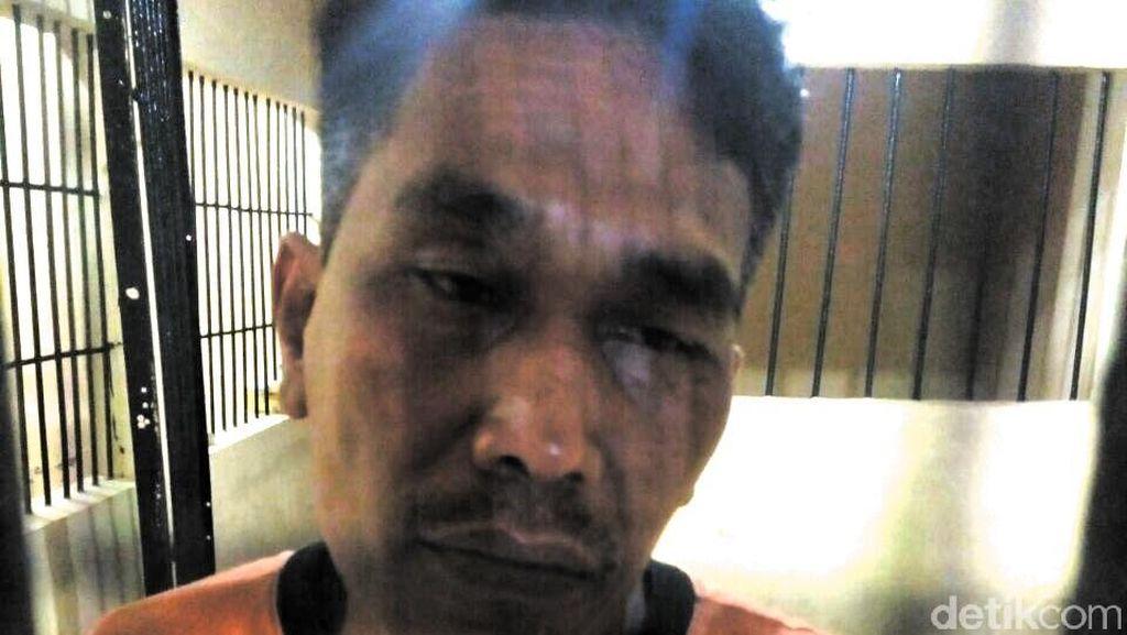Terekam CCTV, Residivis Pelaku Curanmor Ditangkap di Lokasi Pemancingan