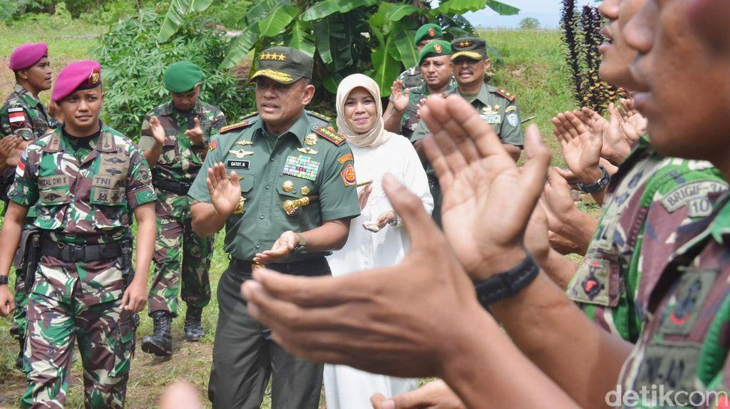 Panglima TNI Kunjungi Pulau Rondo