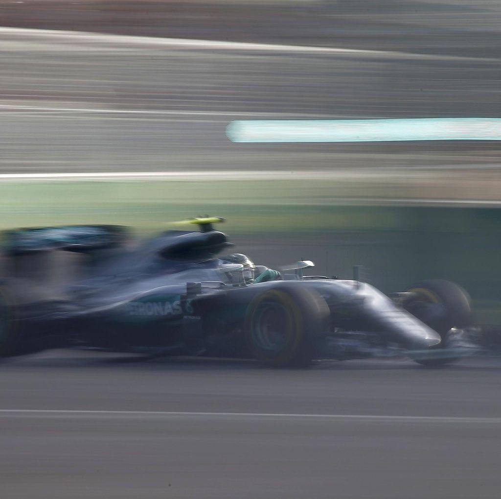 Rosberg Tercepat di Sesi Pertama
