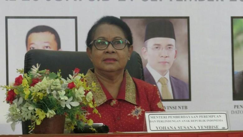 Menteri Yohana: Medsos Anak Harus Diawasi, Kadang Sumber Pornografi di Situ