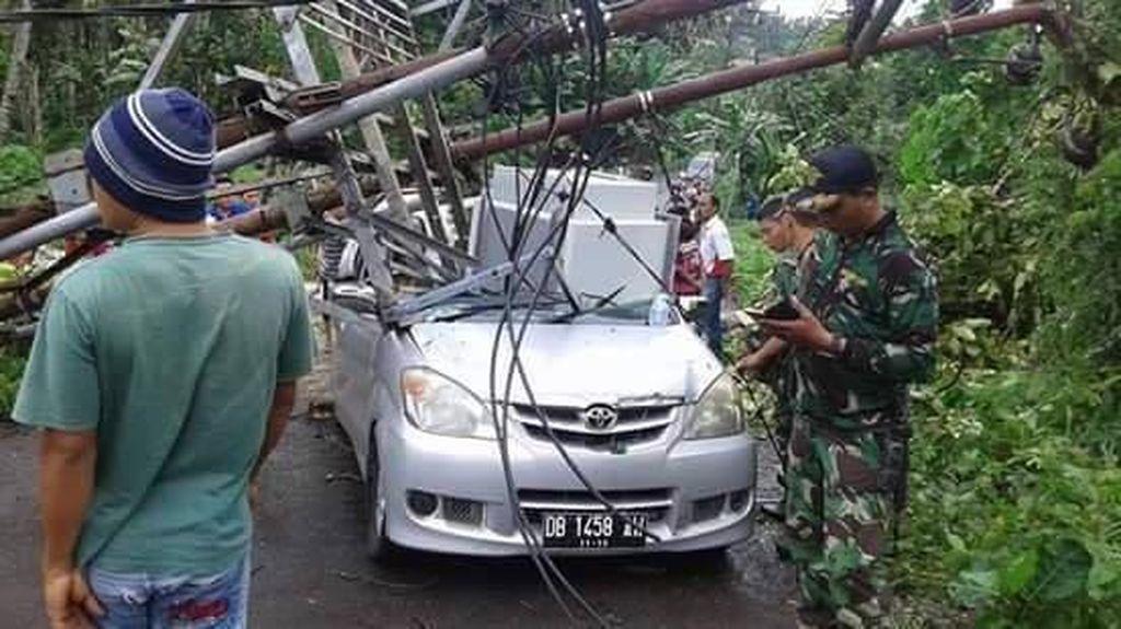 Begini Kerusakan Parah Akibat Banjir dan Longsor di Sangihe