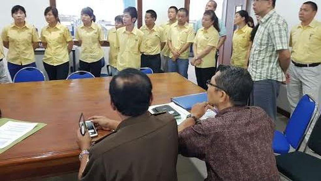 Tak Bawa Pasport, Lima Pekerja Asing Diamankan