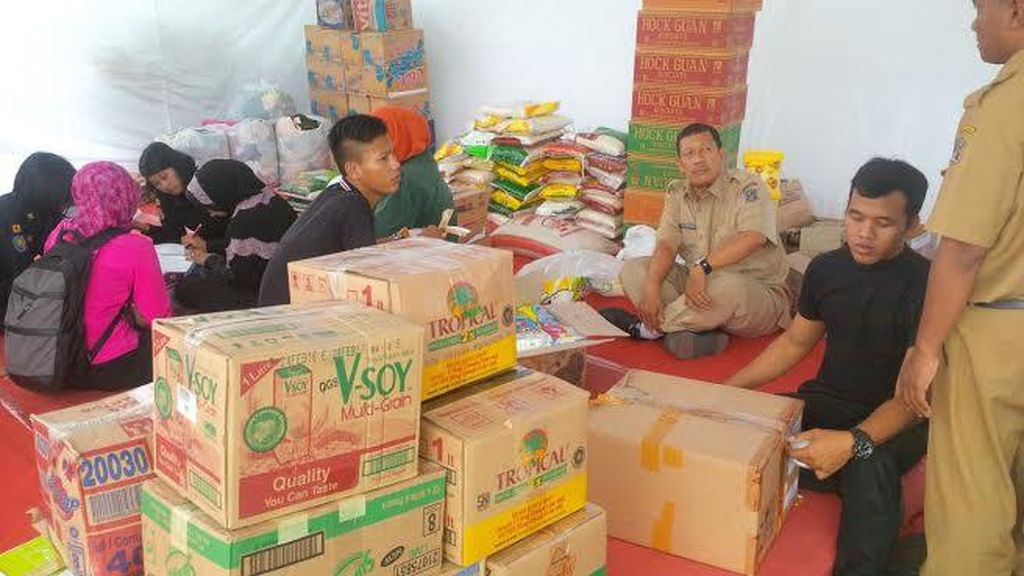 Sehari Dibuka, Posko Bantuan Jateng di Pemkot Surabaya Terkumpul Rp 20 Juta Lebih
