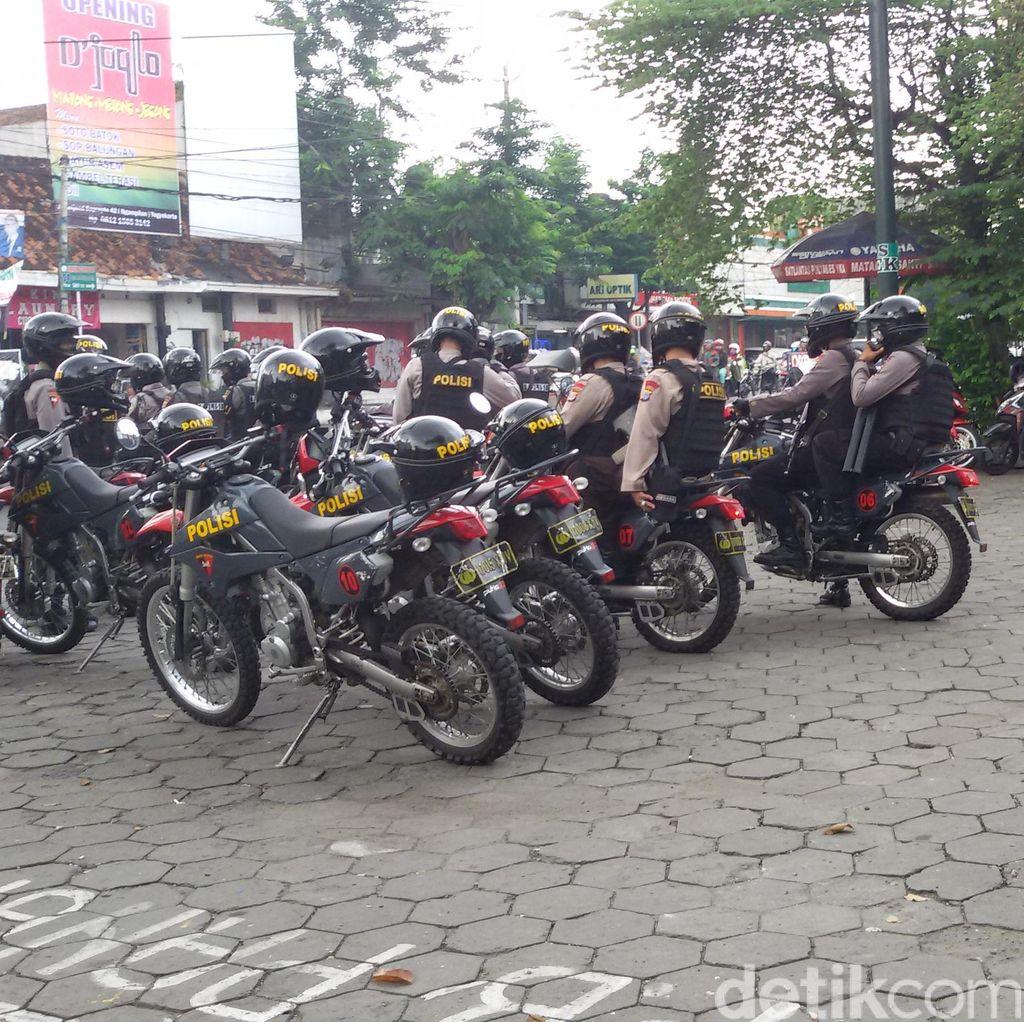 1 Pemuda Tewas Di Bacok, Ratusan Polisi Siaga Di Sejumlah Titik Di Yogyakarta
