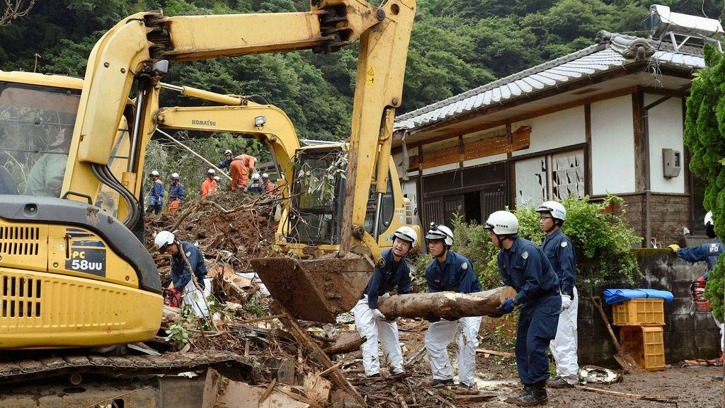 Korban Tewas Akibat Longsor di Jepang Bertambah Jadi 6 Orang