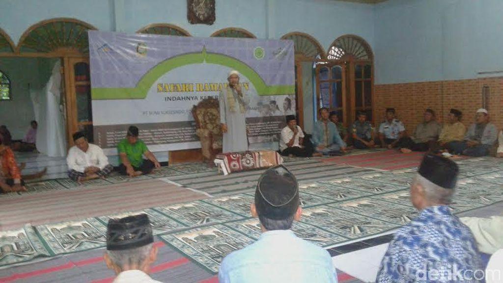 Gelar Safari Ramadan, Operator Tambang Emas Bagikan 1.700 Bingkisan