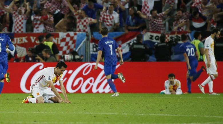 Rekor Tak Terkalahkan Spanyol di Piala Eropa Terhenti Usai 12 Tahun
