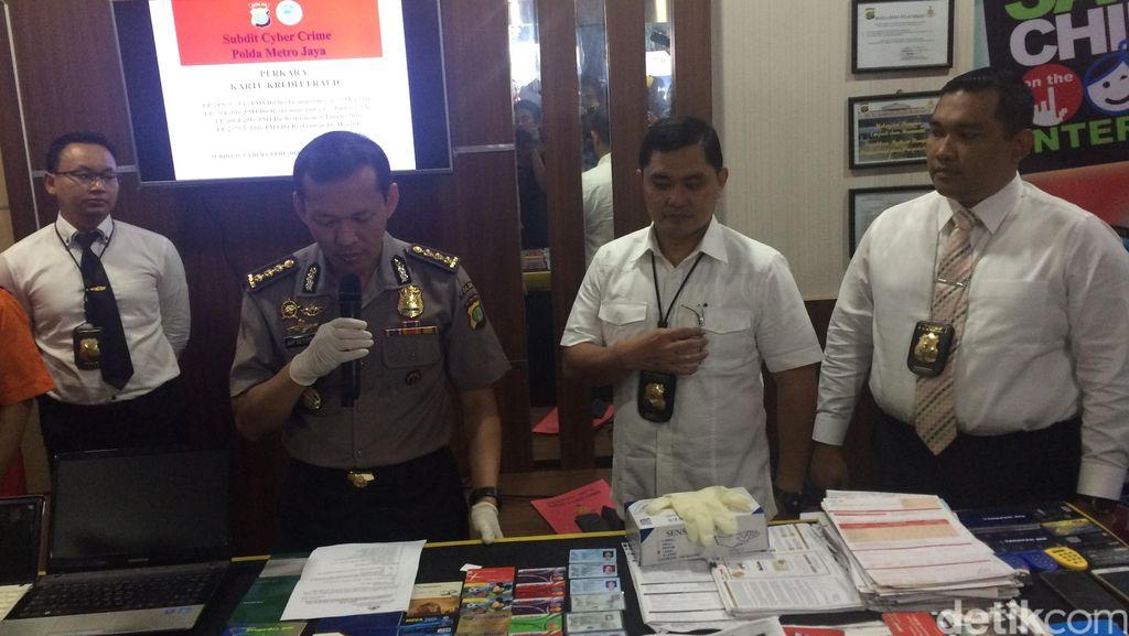 Polisi: 17 Bank Jadi Sasaran Pelaku Pembobolan Kartu Kredit