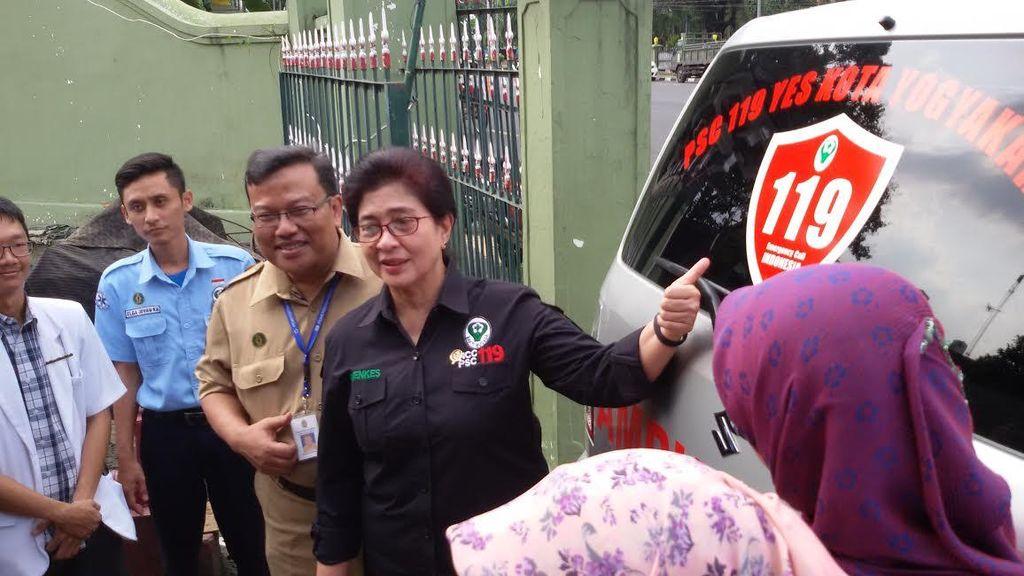 Layanan Darurat 119 Akan Segera Terintegrasi Nasional, Menkes Cek Kesiapan Yogya