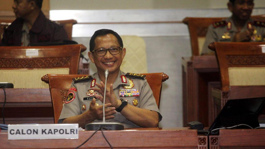 Saat Menteri Ramai-ramai Ucapkan Selamat kepada Komjen Tito di Istana