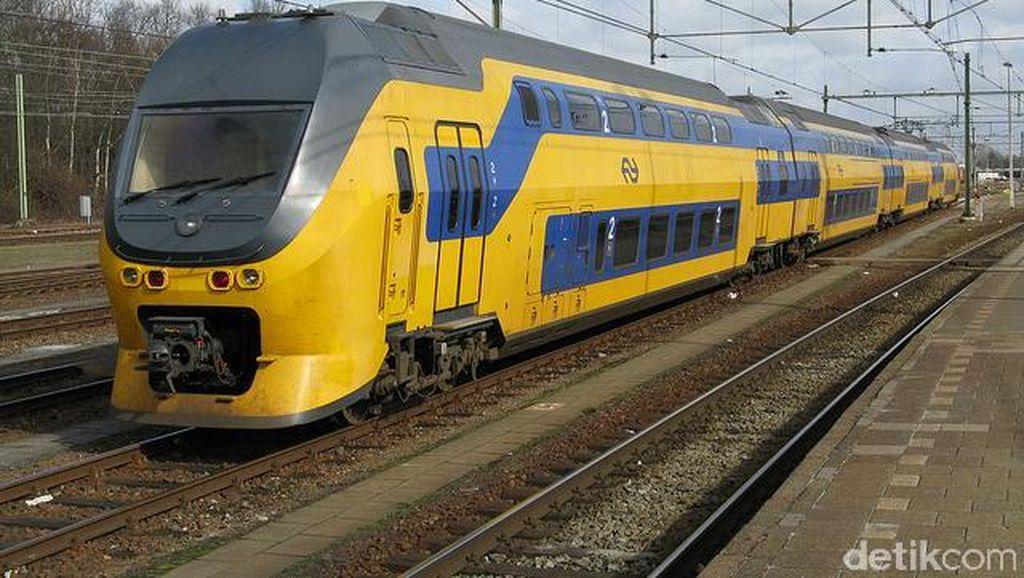 Belanda Uji Coba Kereta Api Tanpa Masinis
