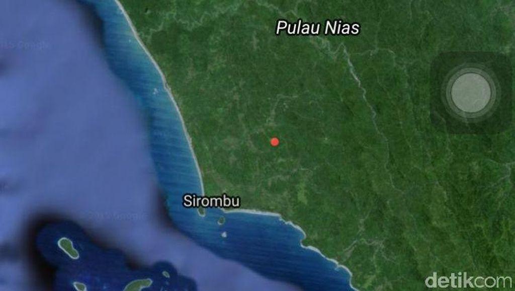 1 Korban Kapal Tenggelam di Nias Ditemukan Tewas