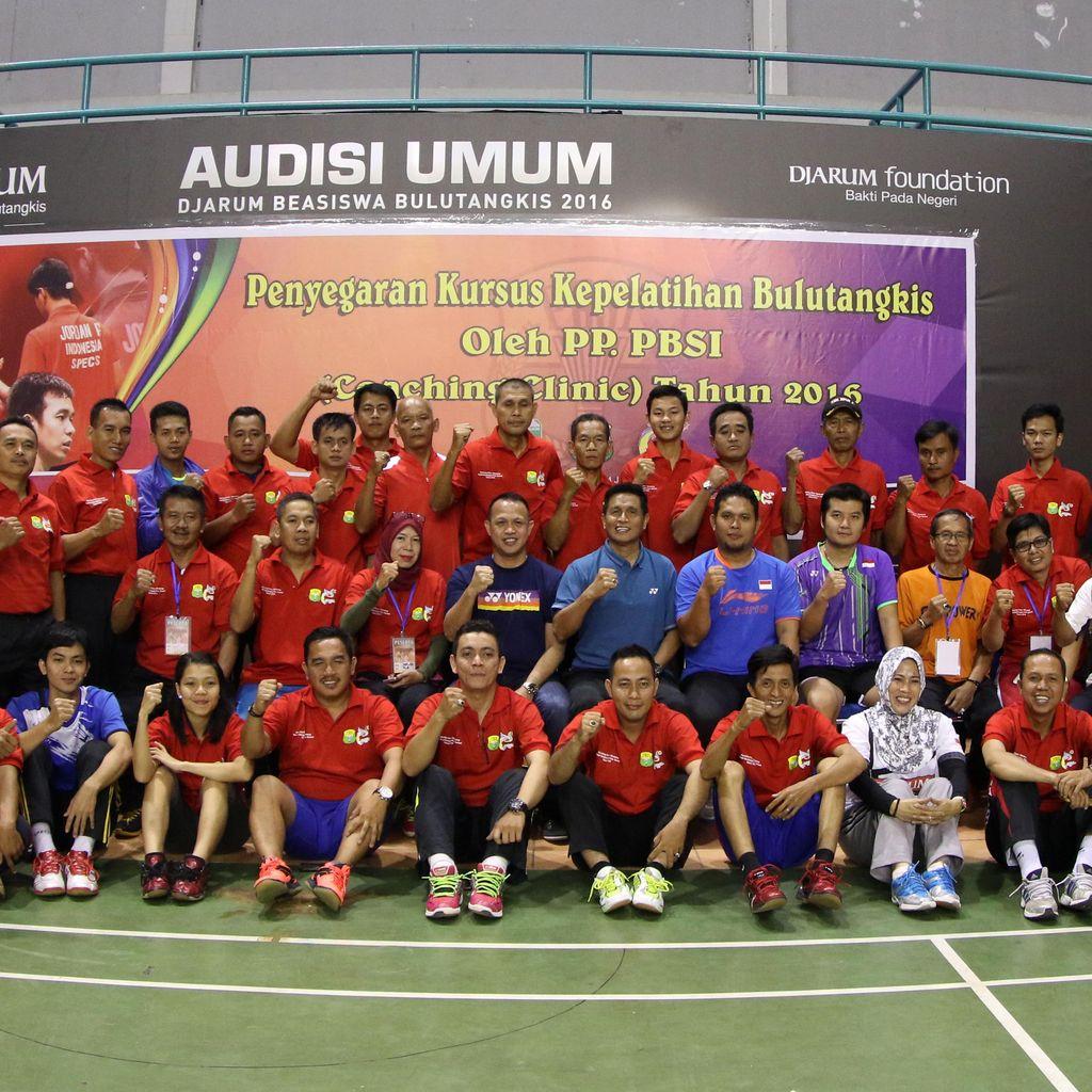 PBSI Gelar Coaching Clinic di Palembang