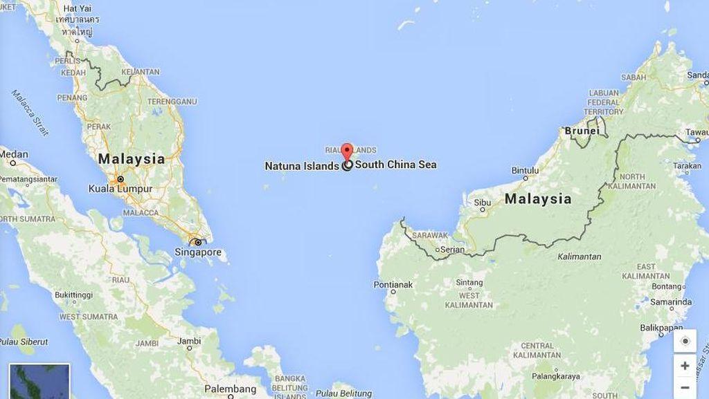 TNI AU: Pesawat Malaysia di Natuna Kooperatif Jadi Diperingatkan Saja