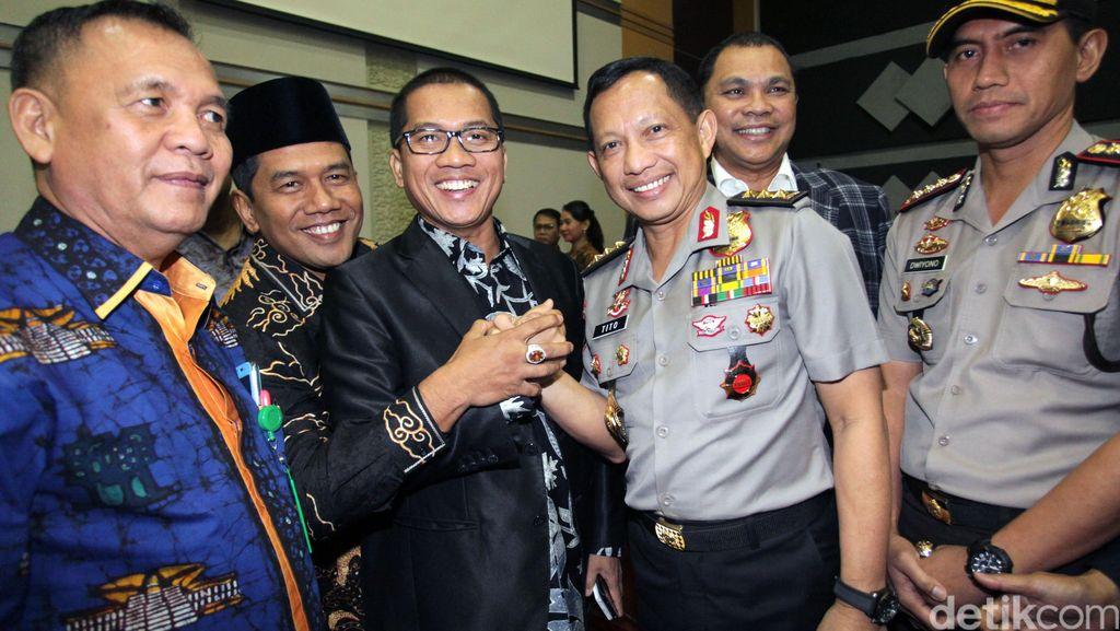 Komjen Tito Tiba Di DPR Hadiri Paripurna Pengesahan Sebagai Kapolri