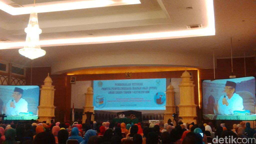Hasyim Muzadi: Petugas Haji Wajib Layani Jamaah dengan Baik